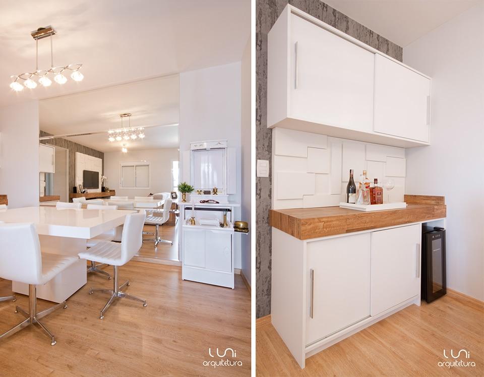 sala de jantar apartamento   projeto de arquiteturaluni arquitetura e