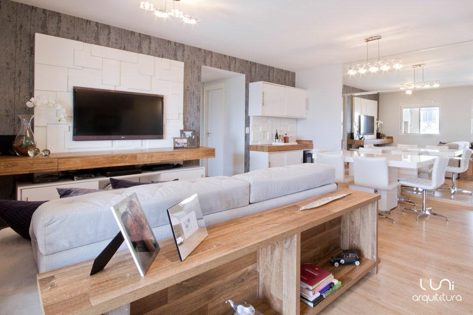 Salas De Tv Em Apartamento ~ Sala de TV  Projeto para Sala de TV de Apartamento