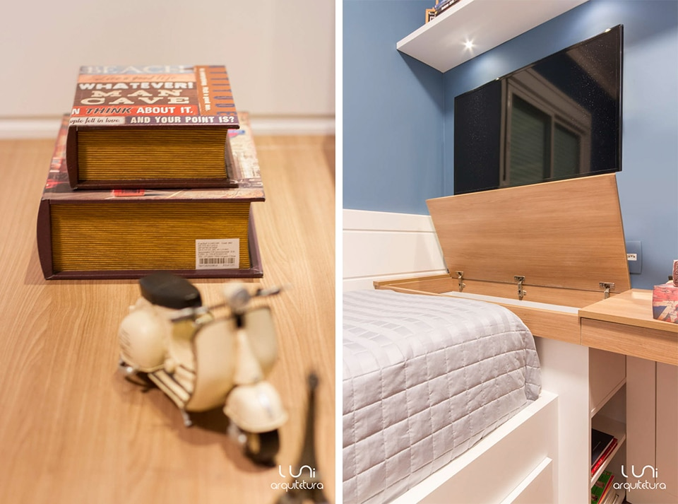 decoracao de interiores quartos de solteiro : decoracao de interiores quartos de solteiro:Projeto de Arquitetura para Quarto Solteiro / adolescente
