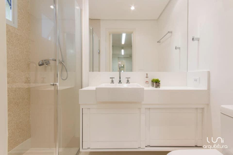 Banheiro Suite Master Casal  Apartamento Brooklin -> Banheiro Pequeno Casal