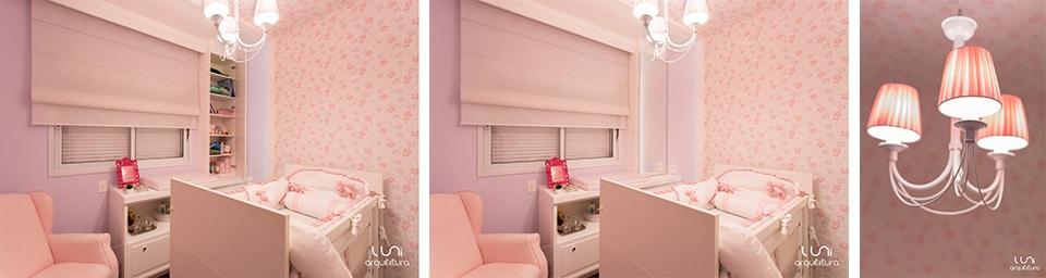 Quarto de Menina Lindo projeto de quarto Rosa para Meninas ~ Quarto Rosa Com Papel De Parede