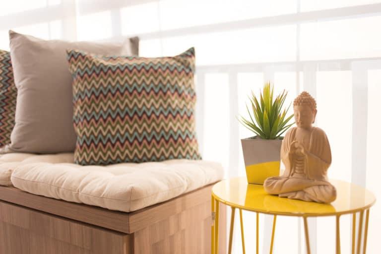 VARANDA gourmet zen para leitura e ioga projeto Luni Arquitetura